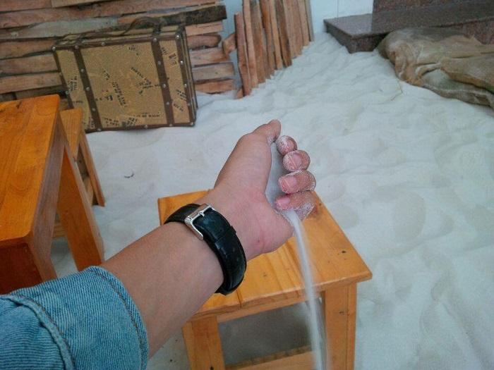 5 ưu điểm vượt trội về cát trắng tự nhiên