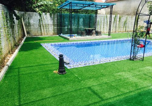 Thảm cỏ nhân tạo trang trí