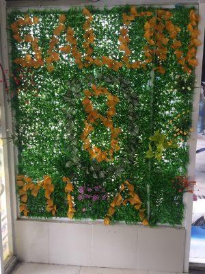 Tường cây giả salon Mia 8