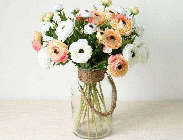 Tham khảo các chậu hoa giả đẹp