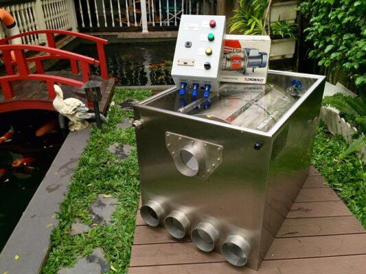 thiết bị lọc nước hồ cá koi