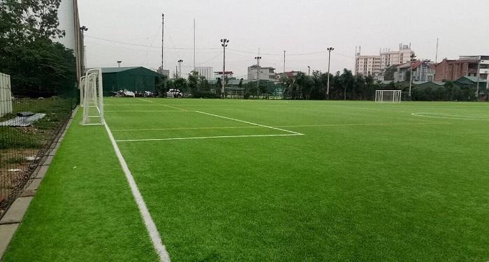 Đơn vị thi công sân bóng cỏ nhân tạo 7 người uy tín