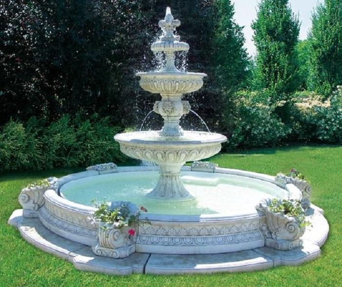 Các bước thiết kế đài phun nước đẹp