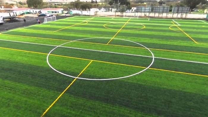 Kích thước tiêu chuẩn cho sân bóng đá 5 người