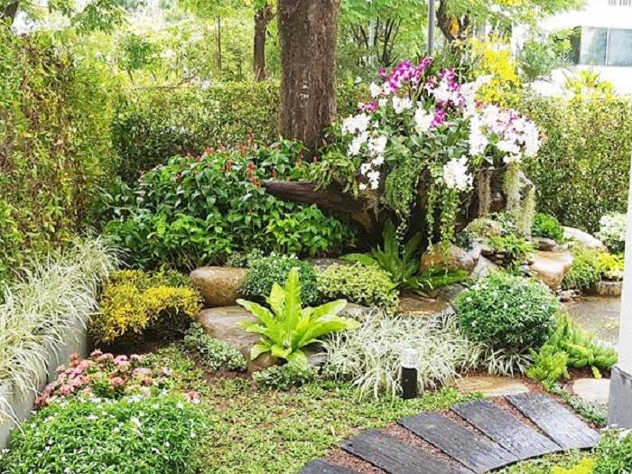 Quá trình thiết kế thi công sân vườn diễn ra như thế nào?