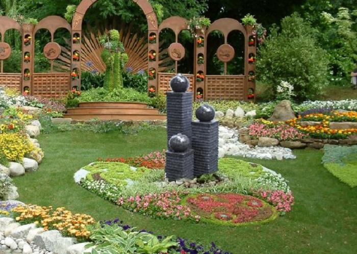 Thiết kế tiểu cảnh sân vườn cần quan tâm đến những vấn đề gì?