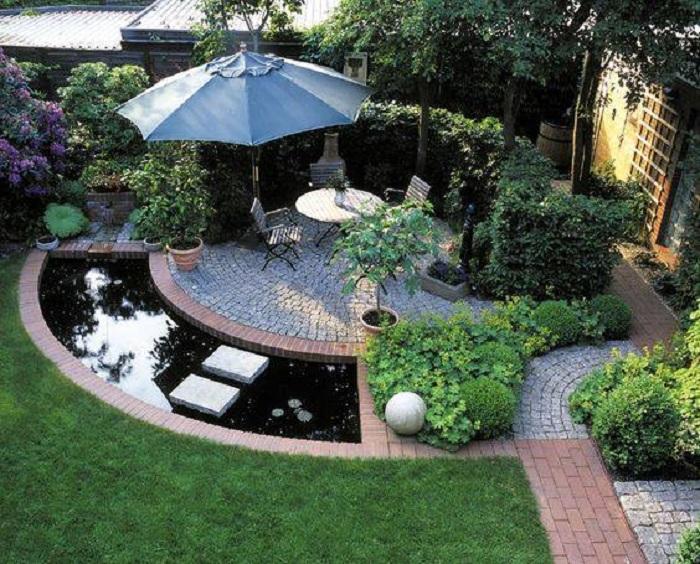 Những chất liệu sử trong thiết kế biệt thự sân vườn