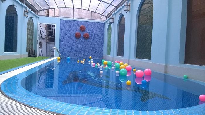 Chi phí xây dựng hồ bơi kinh doanh như thế nào?