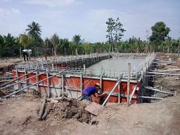xây hồ bơi gia đình