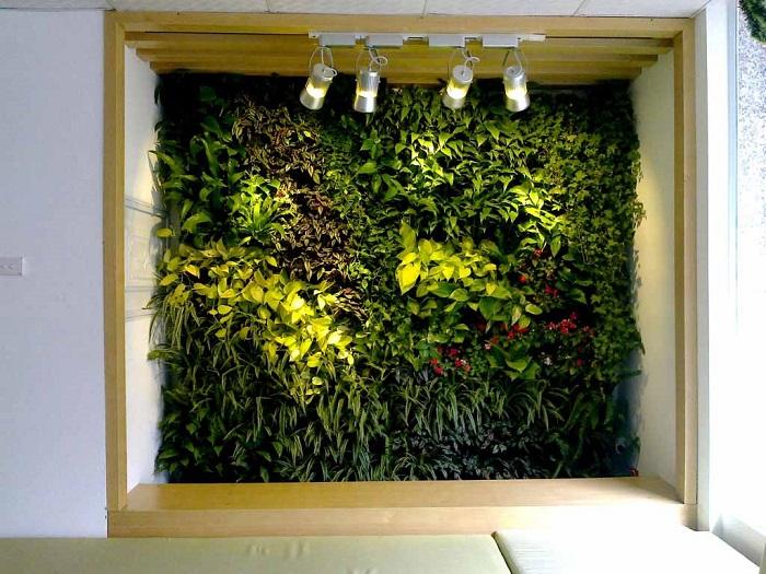 Tường cây giả - sự lựa chọn thông minh