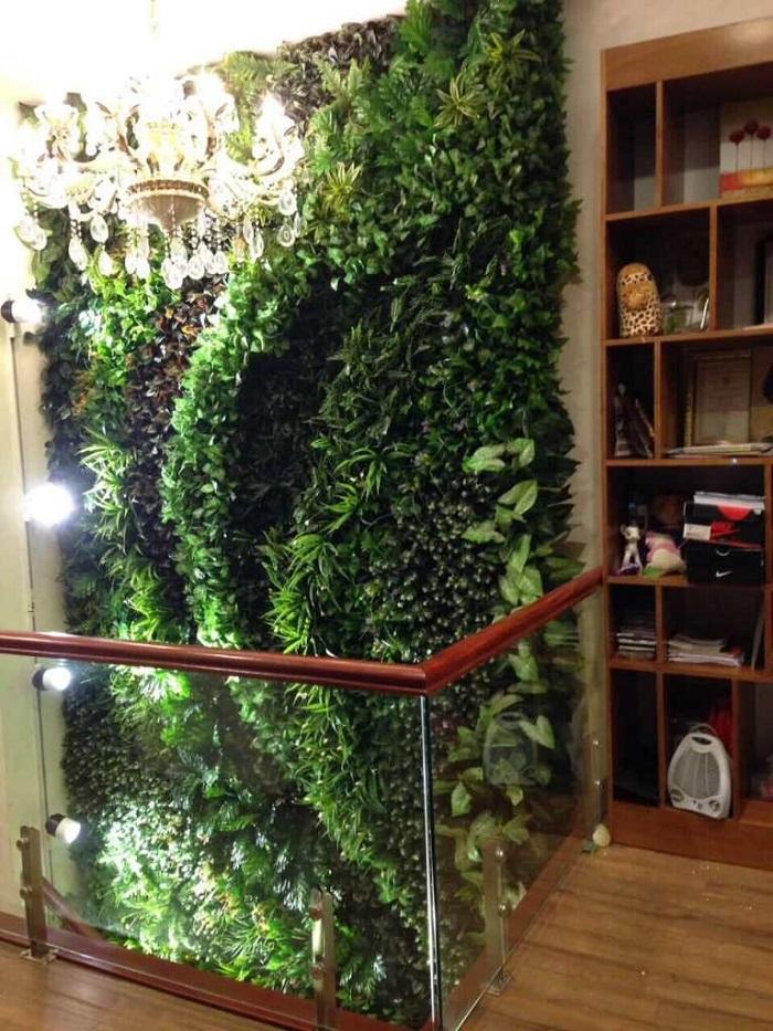 Tường cây giả quận Gò Vấp dùng nhiều ở đâu?