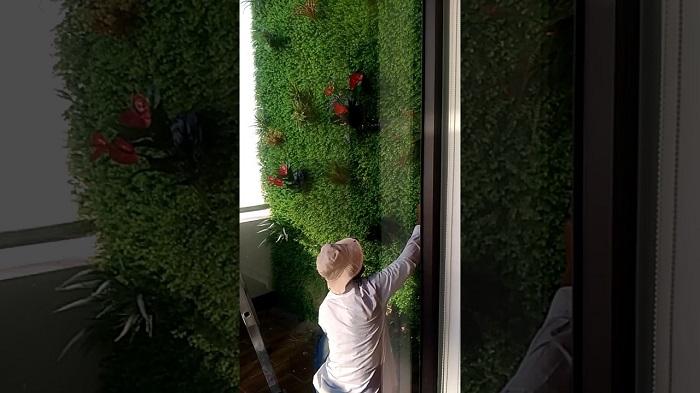Đánh giá nhu cầu sử dụng tường cây giả tại quận Tân Bình