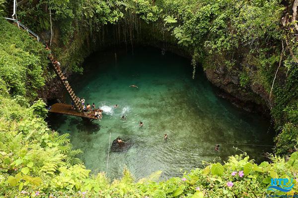 Hồ bơi trong hang động Ik Kil: Chichén Itzá, Mexico
